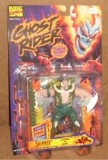 Toy Biz Ghost Rider Skinner Action Figure MOC with Marvel Comics Comic Book New