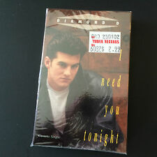 Rare 1992 Diamond D Cassette Tape Single - I Need You Tonight - New & Sealed