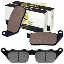 FRONT REAR BRAKE PADS FIT HARLEY DAVIDSON XL883N XL 883N IRON 883 2009-2013