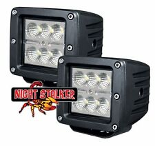 "3"" Square 18 Watt Night Stalker LED.High Energy Flood Beam Off Road Light. Each"