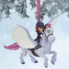 SOFIA THE FIRST & MINIMUS Christmas Tree Ornament Holiday Disney Sophia 1st