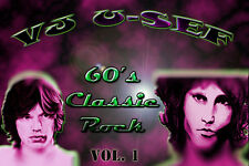 60s Classic Rock  Music Videos * Volume 1 * Beatles Dylan Hendrix Stones Doors *