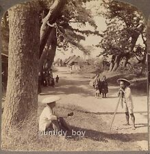 Stereoview Underwood Japan, Suzukawa nr Tokyo, More 3D Stereo Cards Listed