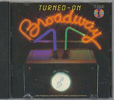 TURNED-ON- BROADWAY - MINT IMPORT CD - JAPAN - 1982 RCA RED SEAL