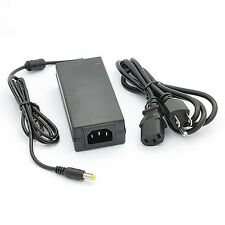 Ac Power Adapter with 3 Prong Plug 12 Volt 4 Amp with 5 Mm Dc Output Jack