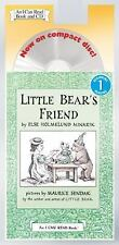 Little Bear's Friend (An I Can Read Book and CD)-ExLibrary