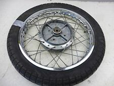 1972 Yamaha YDS7 DS-7 RD250 250 Y606' rear wheel rim 18in