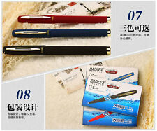 12x Baoke Gel ink pen 0.5mm business signature Smooth Writing Rollerball pens