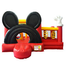 New Inflatable Micky Bounce House Castle Jumper Moonwalk Bouncer Without Blower