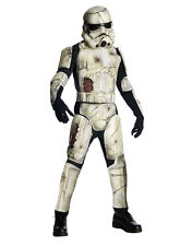 "Star Wars Mens Dlx Death Trooper Costume, Std,CHEST 44"",WAIST 30-34"", INSEAM 33"""