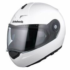 NEW Schuberth C3 Pro XLARGE White Helmet