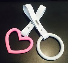 JDM Boso Hang Ring Tsurikawa Drift Handle Train Handle Subway Handle  *PINK*