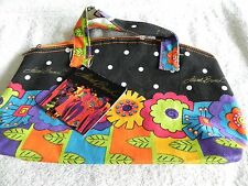 Laurel Burch Canvas Tote w/tags  New Never Used Just Stored Style LB-24