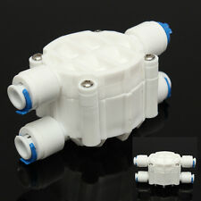 1/4'' Port 4 Way Auto Shut Off Valve For RO Reverse Osmosis Water Filter System