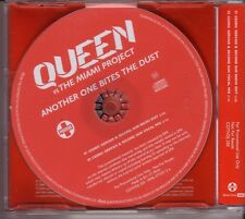 """QUEEN vs THE MIAMI PROJECT """"Another One Bites the Dust"""" 2 Track Promo Maxi CD"""