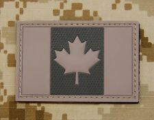 3D PVC Canada Flag Patch Canadian Army CADPAT Tactical Combat Morale VELCRO®