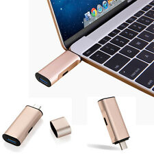2in1 USB 3.0 To USB-C Type C Charger & Sync Hub Adapter For Apple MacBook 12inch