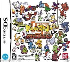 Used DS  Digimon Story: Lost Evolution NINTENDO JAPANESE IMPORT