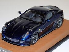 1/43 Looksmart Ferrari 599 GTO 2010 Blue Tour de France Leather Base