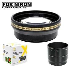 Xit 2.2x Telephoto Lens for Nikon Coolpix P7000 P7100
