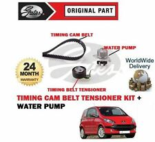 FOR PEUGEOT 1007 75BHP 1.4 8V 2005-2010 NEW TIMING CAM BELT KIT + WATER PUMP