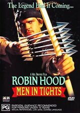 ROBIN HOOD MEN IN TIGHTS – DVD, MEL BROOKS, AUSTRALIAN REGION 4