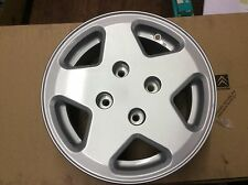 Genuine Peugeot alloy wheel fits 106 306  CH4- 20 5.5J13 9606v8 96051J Condor