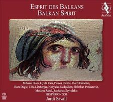 Esprit des Balkans (Balkan Spirit) Super Audio Hybrid CD (CD, Jun-2013, Alia...