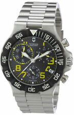 Victorinox Swiss Army NWT NEW SUMMIT XLT CHRONOGRAPH YELLOW 241409 watch MENS