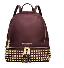 Michael Kors Rhea Studded PLUM  Backpack Rrp £390