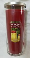 Yankee Candle BUBBLY POMEGRANATE Large Perfect Pillar 20 Oz New Red Fruit