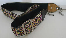 Polaroid SX-70 Camera Strap 2 Clip Adjustable - Colorful Vintage Hippy Retro V2
