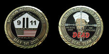 "USAMA BIN LADEN SEAL TEAM SIX CHALLENGE COIN MILITARY COINS LARGE 2"" NEW"