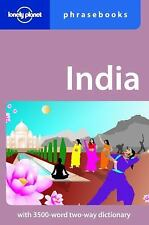 India: Lonely Planet Phrasebook-ExLibrary