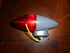 NOS Vintage Bicycle Harley Red Grey Bullet Rocket Torpedo Markers Light Signal
