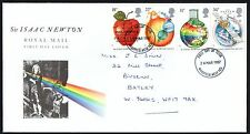FDC - GB - 1987 Sir Isaac Newton - First Day Cover.