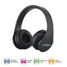 Andoer LH-811 Wireless Stereo Bluetooth Headset Headphone MP3 Player 4in1 E4D1