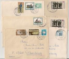 6 COVERS GERMANY DDR TO FRANCE STRASBOURG. L651