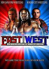 BCW East Meets West DVD - New Japan Pro Wrestling, Booker T, Matt Striker & more