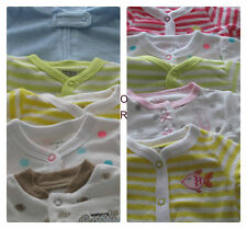 LOT OF 5  BOY'S OR GIRLS - N/B,3,6,9 Carter's Sleep N' Play with Applique
