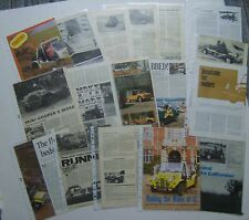 Mini Moke Collection of 17 Road Tests & Articles from various Magazines