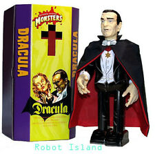 Universal Monsters Dracula Windup Japan Tin Toy Robo Vampire Bella Lugosi