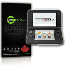CitiGeeks® Nintendo 3DS XL New 2015 / 2012 Screen Protector HD Clear [4-Pack]