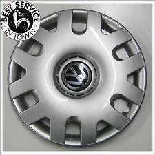 4x Original VW Cubierta de la rueda Buje Tapa 15 Pulgadas Polo 6Q0601147/