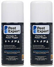 Flea Fogger (x2) Pest Expert 50% Larger (150ml) for a more powerful treatment)