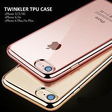 BNEW TWINKLER  TPU CASE FOR IPHONE 7/7S  (rose gold)