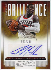 J.J. HICKSON AUTOGRAPH 2012-13 PANINI BRILLIANCE MARKS OF #023/199
