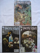 BATMAN : ARKHAM REBORN  : COMPLETE 3 ISSUE MINI SERIES by HINE & HAUN. DC 2009