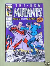 THE NEW MUTANTS- MARVEL COMIC - VOL 1  #75 - MAY 1989