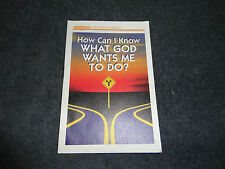 HOW CAN I KNOW WHAT GOD WANTS ME TO DO (Discovery Series - Pamphlet)=